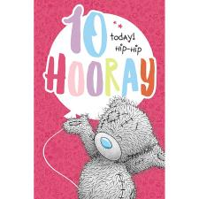 10 Today Hooray Me to You Bear Birthday Card