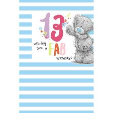 13th Birthday Me to You Bear Birthday Card