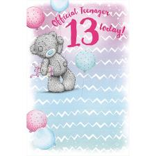 13 Today Me to You Bear Birthday Card