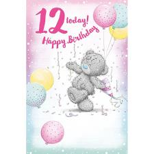 12 Today Me to You Bear 12th Birthday Card