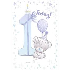 Little Boy 1 Today Tiny Tatty Teddy Me to You Bear 1st Birthday Card
