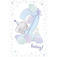 2 Today Boys Tiny Tatty Teddy Me to You Bear 2nd Birthday Card