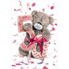 50th Birthday Photo Finish Me to You Bear Birthday Card