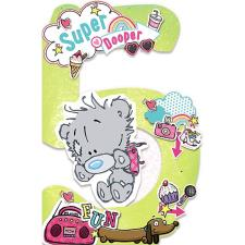 My Dinky 5th Birthday Me to You Bear Birthday Card