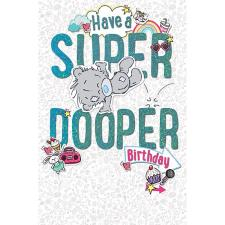 My Dinky Super Dooper Birthday Me to You Bear Card