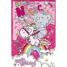 Special Niece My Dinky Me To You Bear Birthday Card