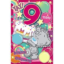 My Dinky Yay 9 Today Me to You Bear 9th Birthday Card