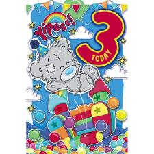 My Dinky 3 Today Me to You Bear 3rd Birthday Card