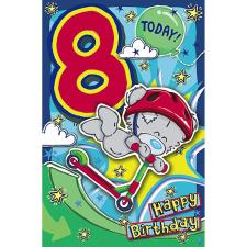 My Dinky 8 Today Me to You Bear 8th Birthday Card
