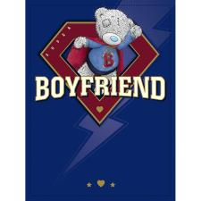 Boyfriend Me to You Bear Large Birthday Card