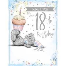 Make A Wish 18th Large Me to You Bear Birthday Card