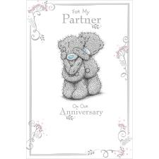 Partner Anniversary Me To You Bear Card
