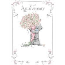 Our Anniversary Me To You Bear Card