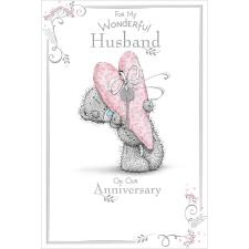 Wonderful Husband Me to You Bear Anniversary Card