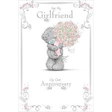 Girlfriend Anniversary Me To You Bear Card