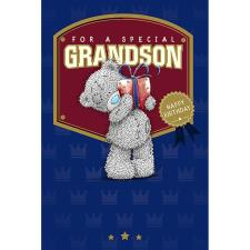 Special Grandson Me to You Bear Birthday Card