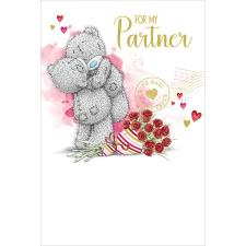 For My Partner Me To You Bear Birthday Card