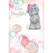 Beautiful Daughter Me To You Bear Birthday Card