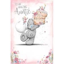 Amazing Auntie Me To You Bear Birthday Card