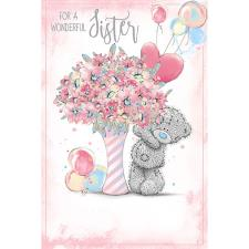 Wonderful Sister Me To You Bear Birthday Card