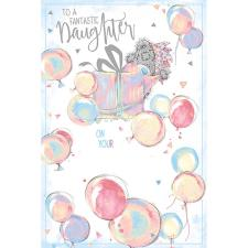 Fantastic Daughter Me To You Bear Birthday Card