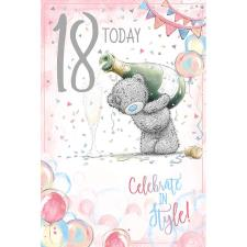 18 Today Me To You Bear 18th Birthday Card