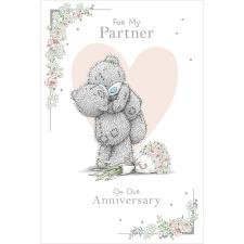 For My Partner Me to You Bear Anniversary Card