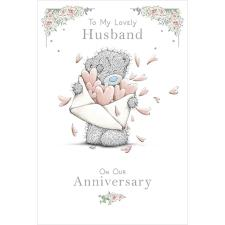 Lovely Husband Me to You Bear Anniversary Card