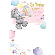 Birthday Wishes Just For You Me to You Bear Birthday Card