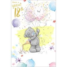 Have A Great 18th Me to You Bear Birthday Card