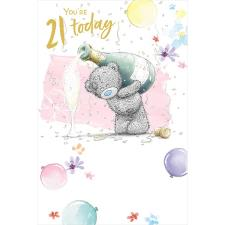 You're 21 Today Me to You Bear 21st Birthday Card