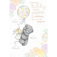 Birthday Balloon Me to You Bear Birthday Card