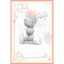 Birthday Bunting Me to You Bear Birthday Card