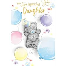 Daughter Birthday Me to You Bear Birthday Card