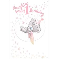 Daughter's 1st Tiny Tatty Teddy Me to You Bear Birthday Card