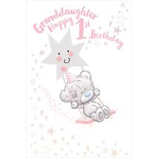 Granddaughter 1st Birthday Tiny Tatty Teddy Me to You Bear Birthday Card