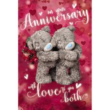 On Your Anniversary Me to You Bear Card