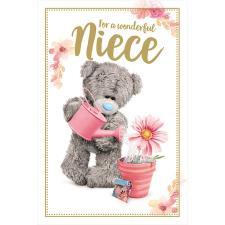 Niece Photo Finish Me to You Bear Birthday Card