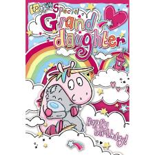 Special Granddaughter My Dinky Me To You Bear Birthday Card