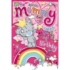 Bestest Mummy My Dinky Me To You Bear Birthday Card