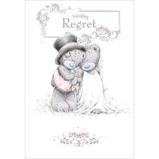Wedding Regret Me To You Bear Wedding Day Card