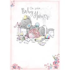 On Your Baby Shower Me To You Bear Card
