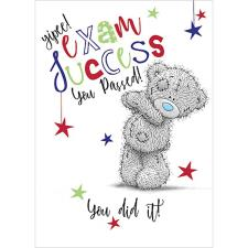 Exam Success You've Passed Me To You Bear Card