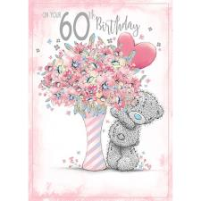 60th Birthday Me to You Bear Birthday Card