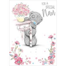 For A Special Nan Me To You Bear Birthday Card