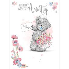 For You Aunty Me To You Bear Birthday Card