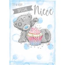 Special Niece Me To You Bear Birthday Card