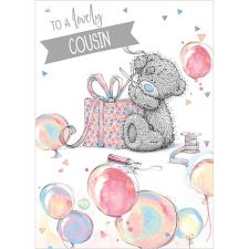 Lovely Cousin Me To You Bear Birthday Card