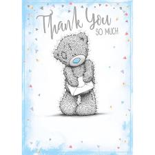 Thank You So Much Me To You Bear Card