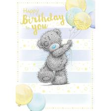 Bouquet of Balloons Me to You Bear Birthday Card